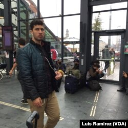 Hundreds of migrants continue to arrive in Sweden, most of them at the port city of Malmo, Sept. 22, 2015.