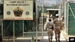 Suasana di Camp Delta, penjara Guantanamo, Kuba (Foto: dok).