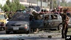 حمله در نزدیکی سفارت امریکا رخ داد