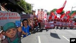 Selebrasyon fèt travay la nan Filipin