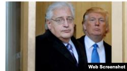 Дональд Трамп и Дэвид Фридман