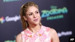 """La colombiana Shakira presenta un nuevo álbum llamado """"El Dorado""""."""