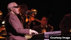 미국 가수 레이 찰스(Ray Charles).