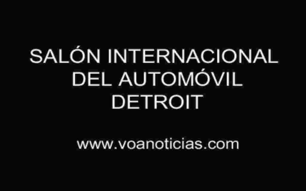 Salón Internacional del Automóvil de Detroit