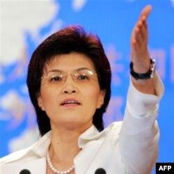 Xitoy Tashqi ishlar so'zlovchisi Tsiang Yu