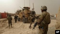 아프가니스탄 주둔 미군 기지. (자료사진)