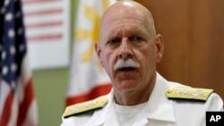Командующий Тихоокеанским флотом ВМС США Скотт Свифт