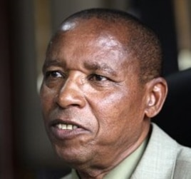 Kenya's Justice Minister Mutula Kilonzo (2010 file photo)