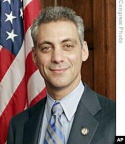 Rahm Emanuel du temps où il était député de Chicago