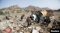 100,000 người thất tán vì xung đột ở Yemen