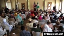 John Kerry a Sokoto yana cigaba da jawabinsa