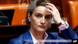 Predsenica Vlade Srbije Ana Brnabić (arhivska fotografija)