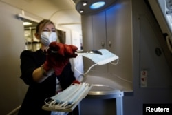 Pandemic reshapes air travel