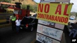 Desde diciembre pasado Venezuela cerró parcialmente la frontera con Colombia.