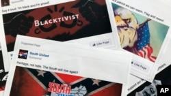 Примеры размещенных в Facebook рекламных объявлений, связанных с попытками России подорвать политический процесс в США