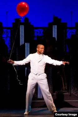 "Dule Hill in Broadway's ""After Midnight."" (Photo by Matthew Murphy)"