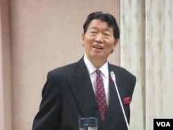 台湾驻美代表沈吕巡 (美国之音张永泰拍摄)