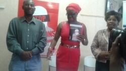 Report on Human Rights Book, Victims of Abductions Filed By Patricia Mudadigwa