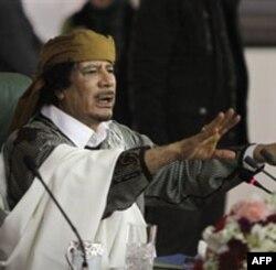 Qaddafiy harbiy emas, iqtisodiy jazo oladi