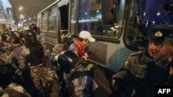 Nemiri na železničkoj stanici u Moskvi