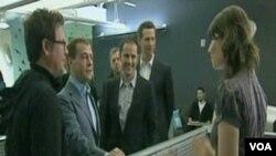 Ruski predsjednik s pratnjom u jednoj od kompanija u Silikonskoj Dolini