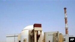Iran's Bushehr nuclear plant.