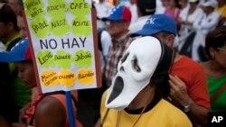 Los venezolanos no encuentran respuesta a sus demandas en el gobierno de Maduro.