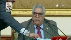 Video of Egypt's Lower House Parliament