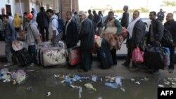 Uluslarası Kuruluşlar Libya'daki Mültecilere Yardıma Hazırlanıyor