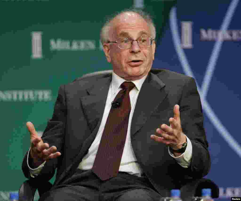 2002 Nobel Economics Laureate Daniel Kahneman, pictured in 2006.