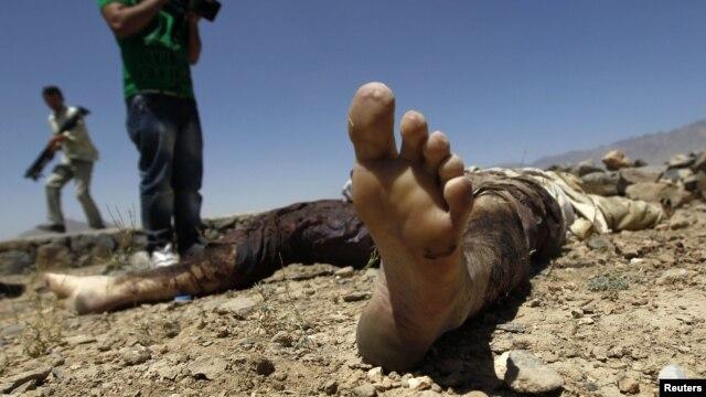 아프간 카불 시 무장단체 탈레반에 의한 폭탄테러 현장. (자료사진)