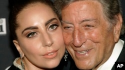 Tony Bennett and Lady Gaga in July.