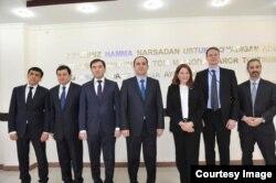 AQSh va O'zbekiston rasmiylari, 15-mart, Toshkent
