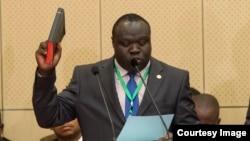 Christopher Bazivamo, Icegera c'umunyamabanga mukuru w'umuryango w'ibihugu vya Afrika y'ubuseruko