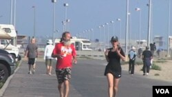 美國越來越多人選擇赤腳跑步