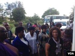Amalunga edale lekhomithi elikhokhelwa nguDokotela Ruth Labode. (Annahstacia Ndlovu)
