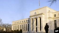 位于华盛顿的美联储总部。(资料照片)
