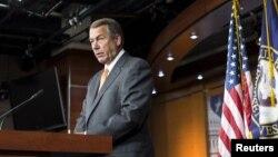 El presidente de la Cámara de Representantes, John Boehner, todavía no ha presentado un plan para evitar el cierre del gobierno federal.