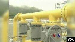 """中國石油開採人員最近在號稱""""世界屋脊""""的青藏高原上進行了鑽探。(視頻截圖)"""