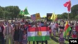 Мітинг на підтримку курдів