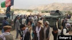 نیروهای خیزش مردمی ضد طالبان در اندراب