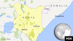 Kenyan forces struck areas in Gedo, Somalia, where al-Shabab is believed to have camps.