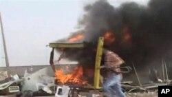 Mashambulizi katika eno la Misrata Libya.