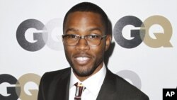 """Frank Ocean at the 16th annual GQ """"Men of the Year"""" party in Los Angeles, Nov. 17, 2011."""