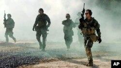 Toán biệt kích hải quân SEAL của Hoa Kỳ.