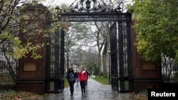 Kampus Yale University di kota New Haven, Connecticut (foto: dok).