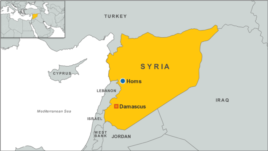 Russia has begun bombing near the western Syrian city of Homs, U.S. defense officials say.