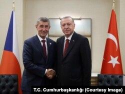 Cumhurbaşkanı Erdoğan ve Çekya Başbakanı Babiş