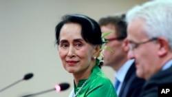 Aunq San Suu Kyi
