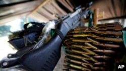 """El pasado 1 de marzo se dio el proceso de registro e identificación de las mismas. El presidente colombiano, Juan Manuel Santos, dijo que """"ya se tiene un inventario de 14.000 armas de las FARC."""